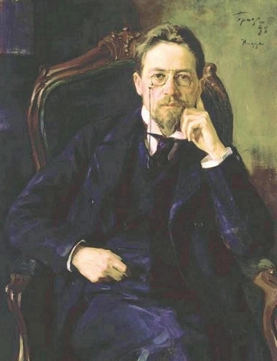Portrait of Anton Chekhov