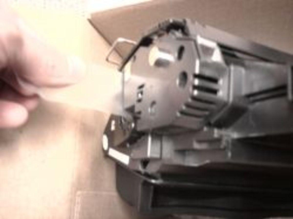 how to change toner cartridge