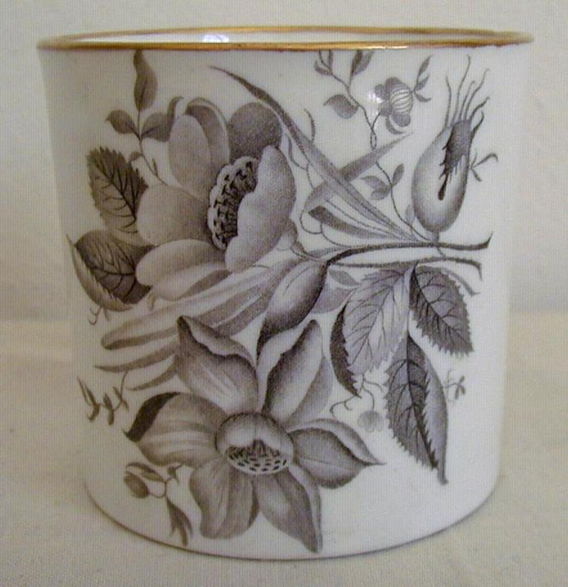 Spode Can Bat Printed c. 1810