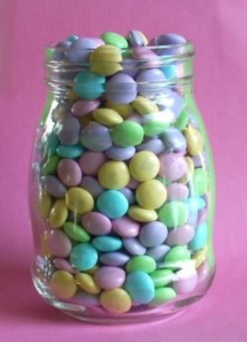 How many M&Ms in a Jar