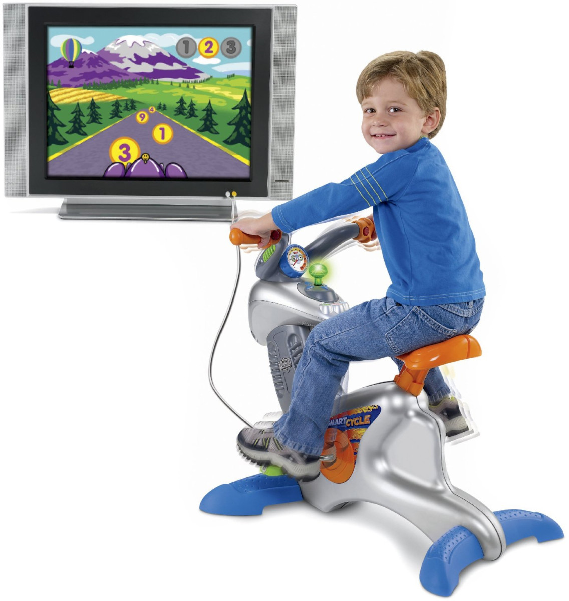 Kids Exercise Bikes For Children - Junior Stationary Fitness Bike Toys