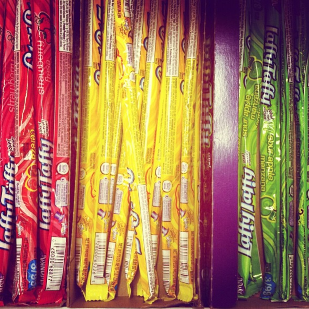 Laffy Taffy has many variations.