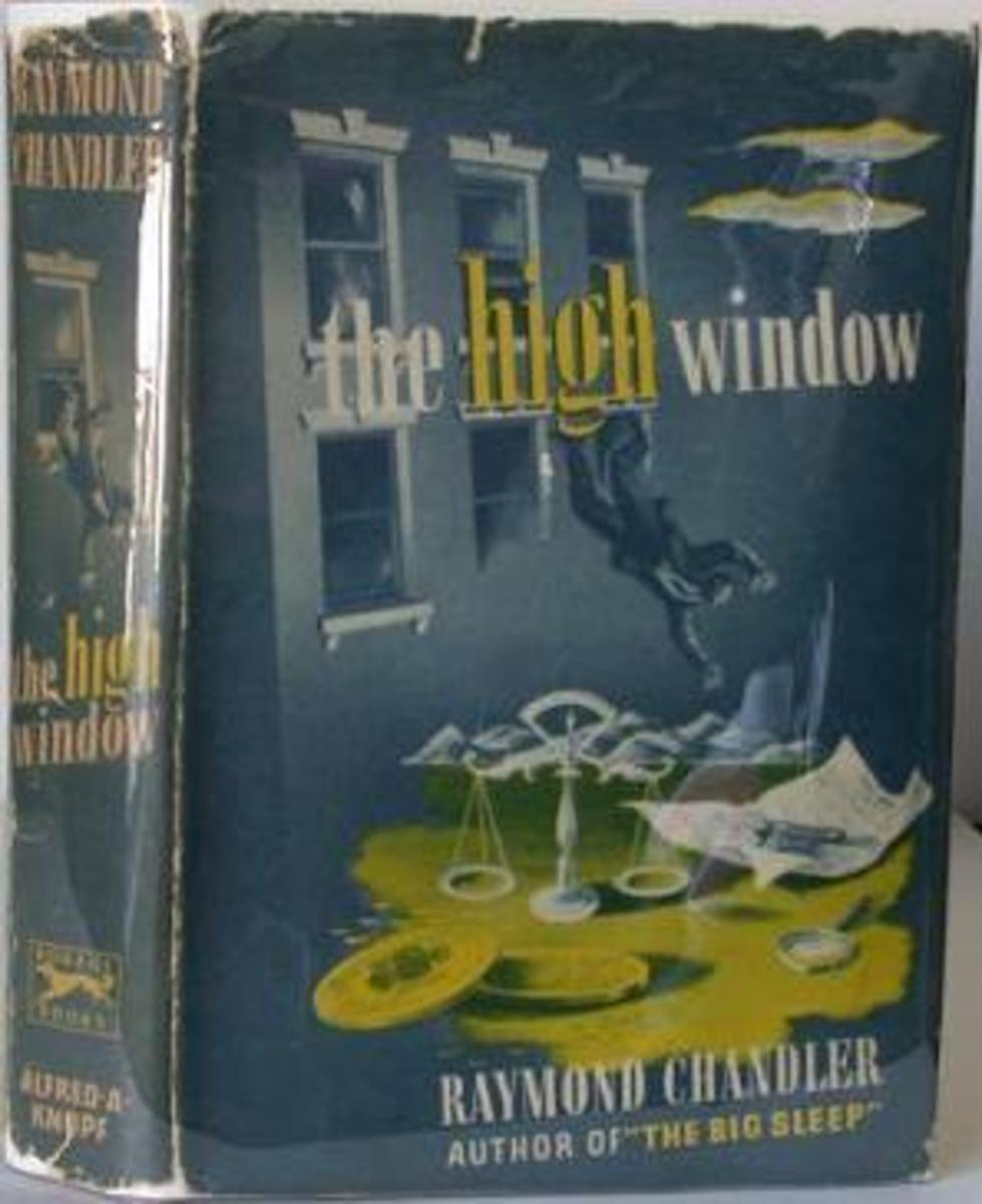 The High Window's first edition cover