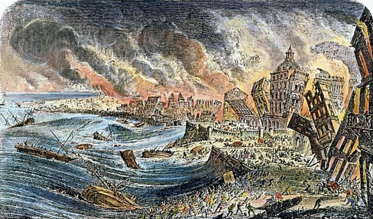 LISBON EARTHQUAKE OF 1755