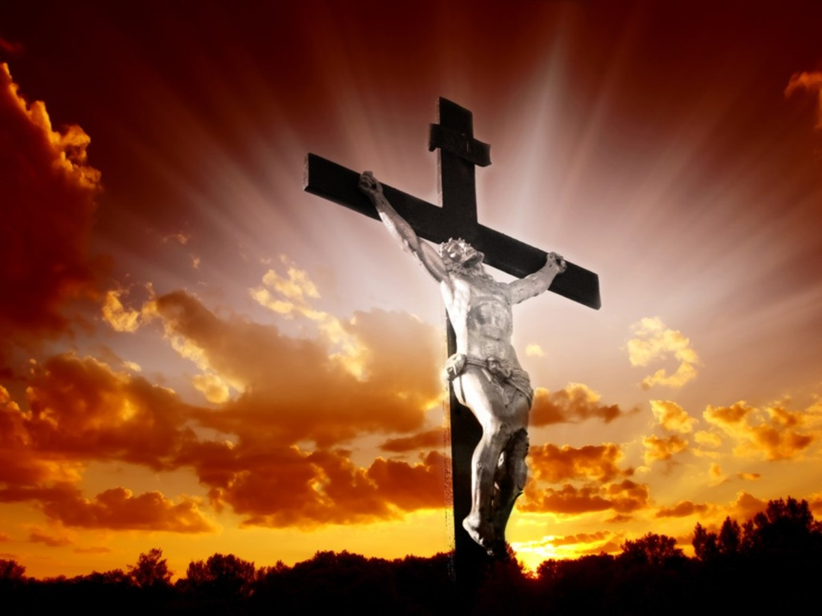 THE CHRISTIAN FAITH BEGINS AND ENDS AT THE CROSS