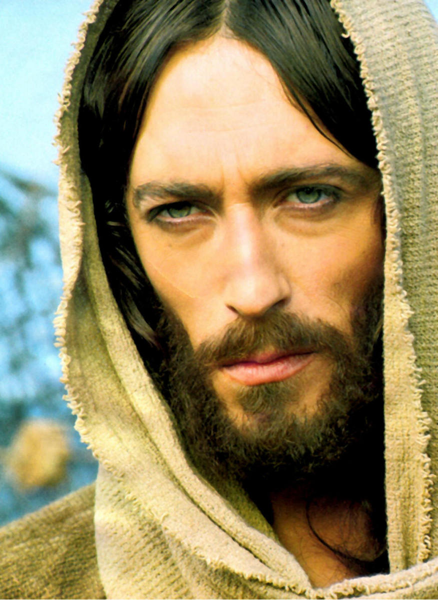 AN ACTOR PLAYING JESUS CHRIST