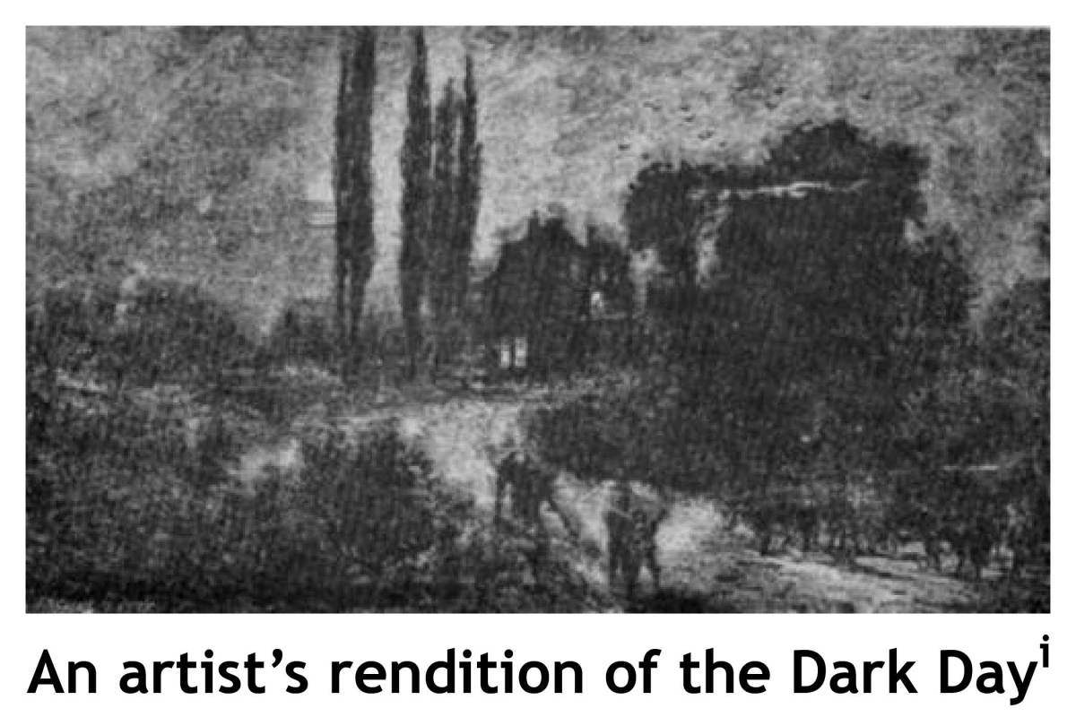 THE DARK DAY, 1780
