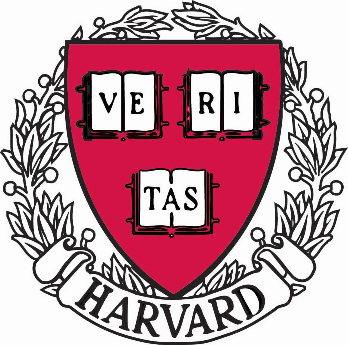 "THE ORIGINAL MOTTO OF HARVARD WAS ""VERITAS POR CHRISTO ET ECCLESIA"" WHICH MEANS ""TRUTH FOR CHRIST AND HIS CHURCH.""  IN THE 20TH CENTURY IT WAS SHORTENED TO THE CURRENT MOTTO ABOVE: MERELY ""TRUTH"""