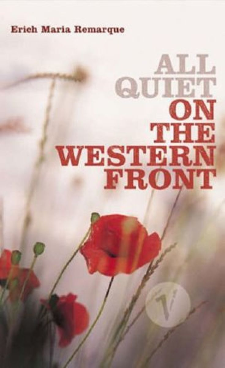 Graphic Anizer For All Quiet On The Western Front Remarque