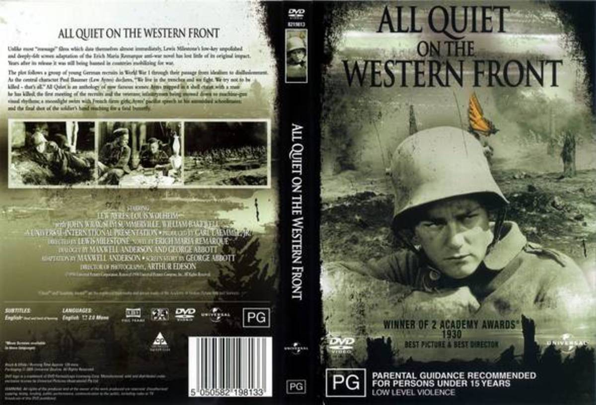 literary essay on all quiet on the western front