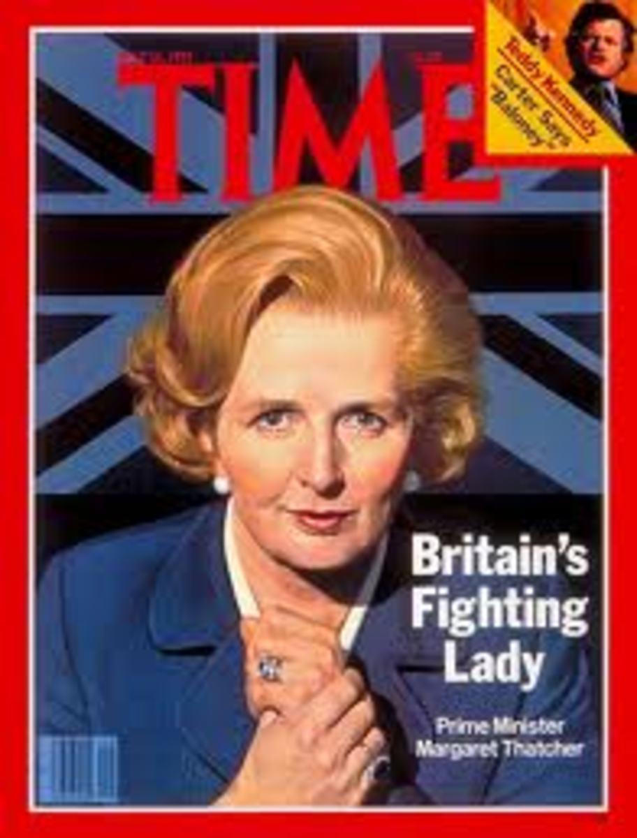 P.M. Margaret Thatcher
