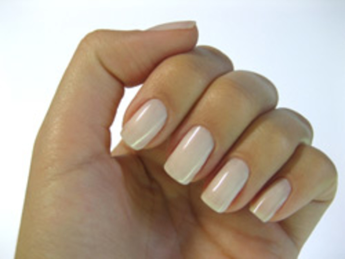 Painted nails look beautiful but spell bad news for clinical environments