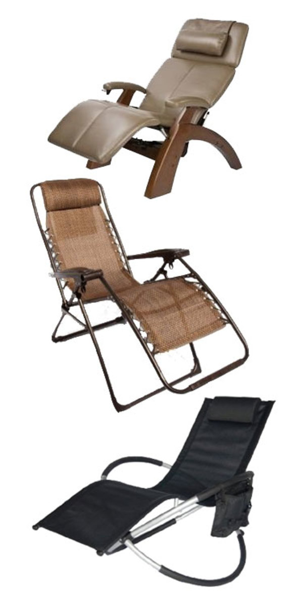 It's important to determine what you expect from your zero gravity chair before you purchase it!