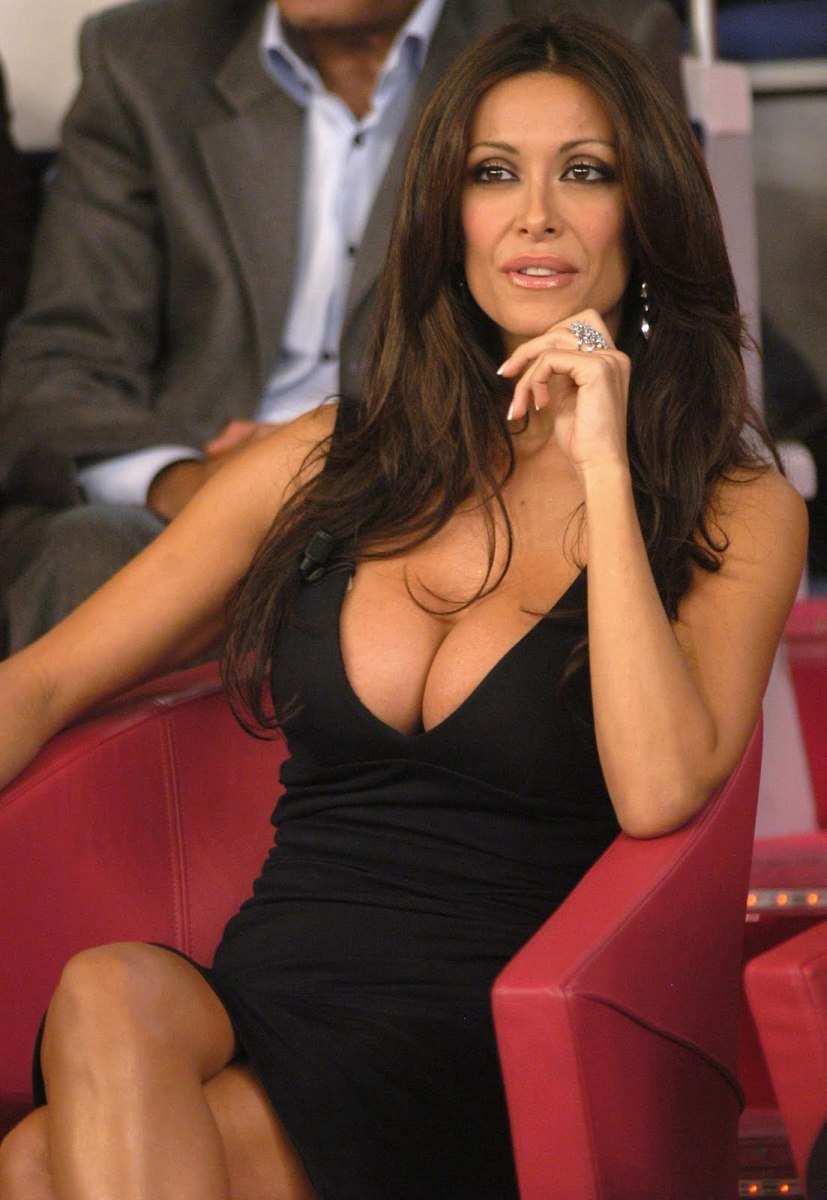 Sara Varone from Italian Talk Show Hostess Art Photo and Pictures