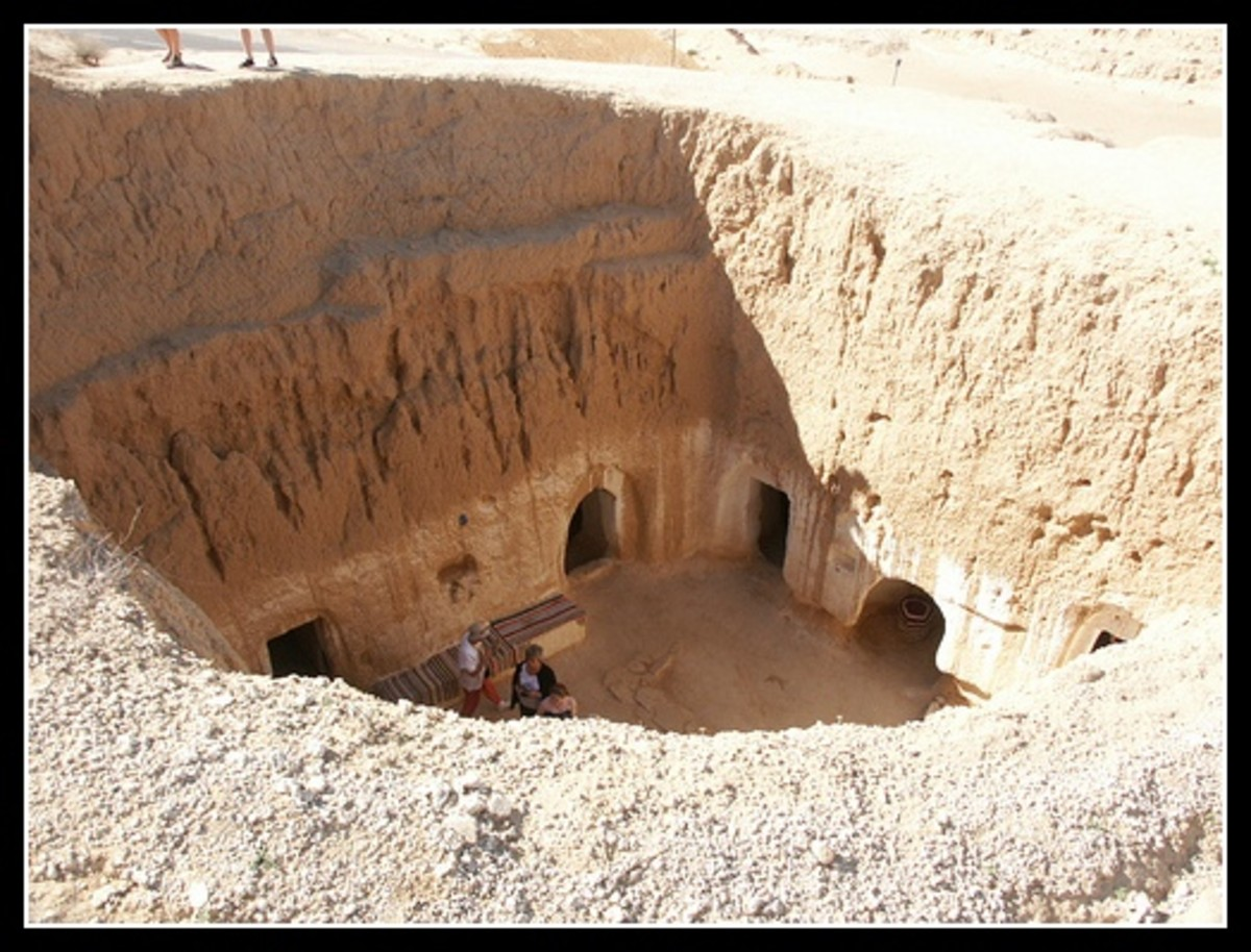 Matmata underground house