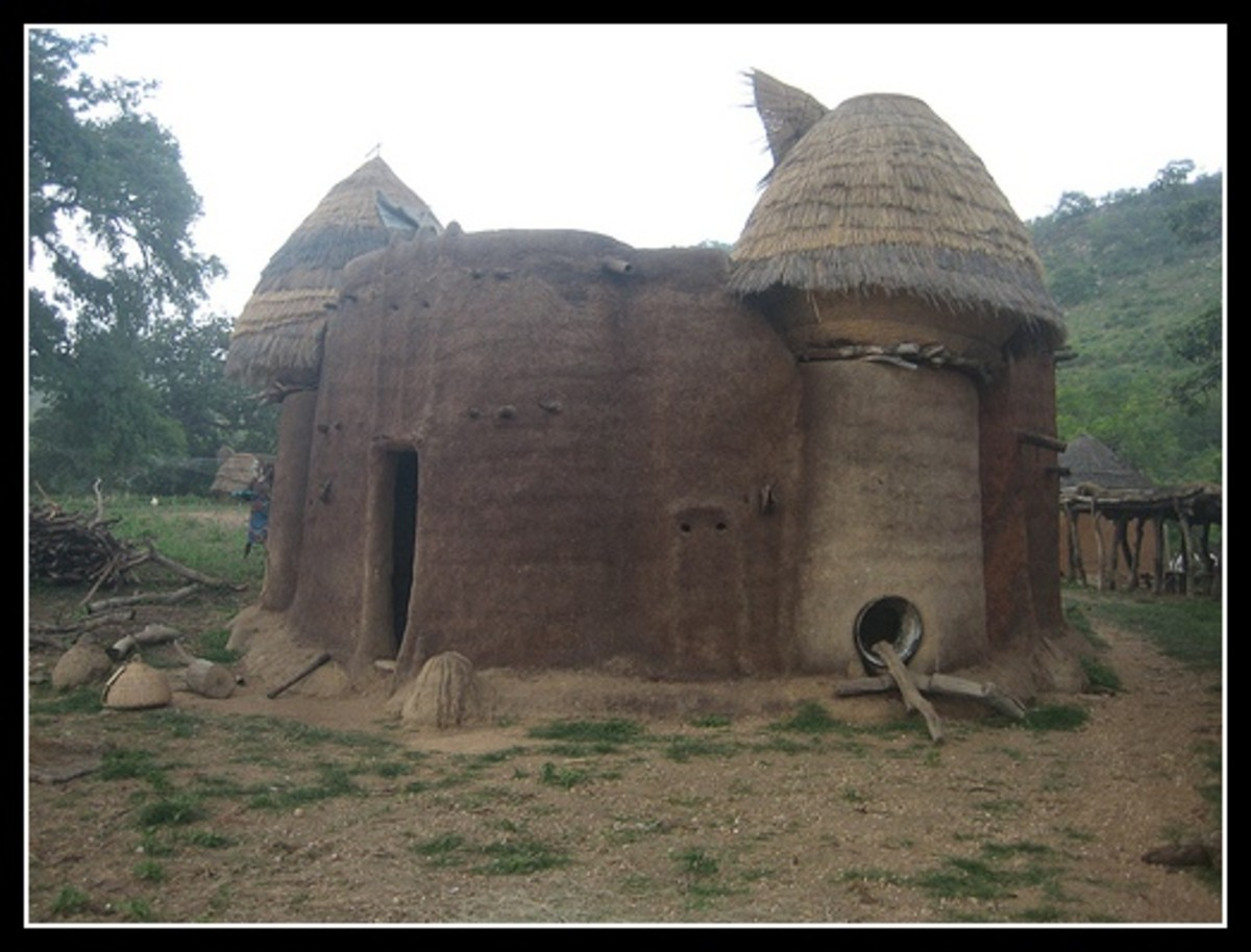 African taberma house