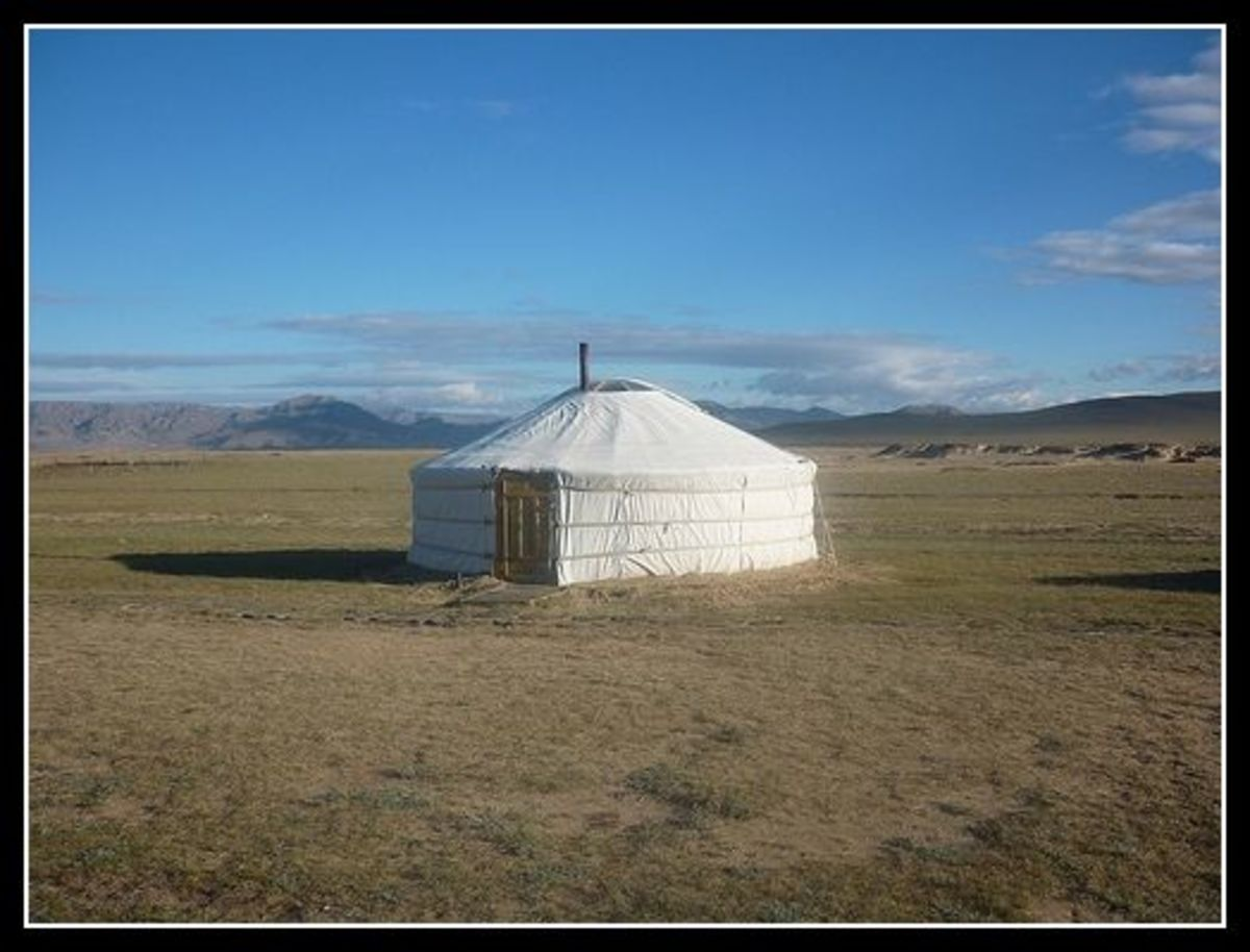 Amazing Yurt / Ger