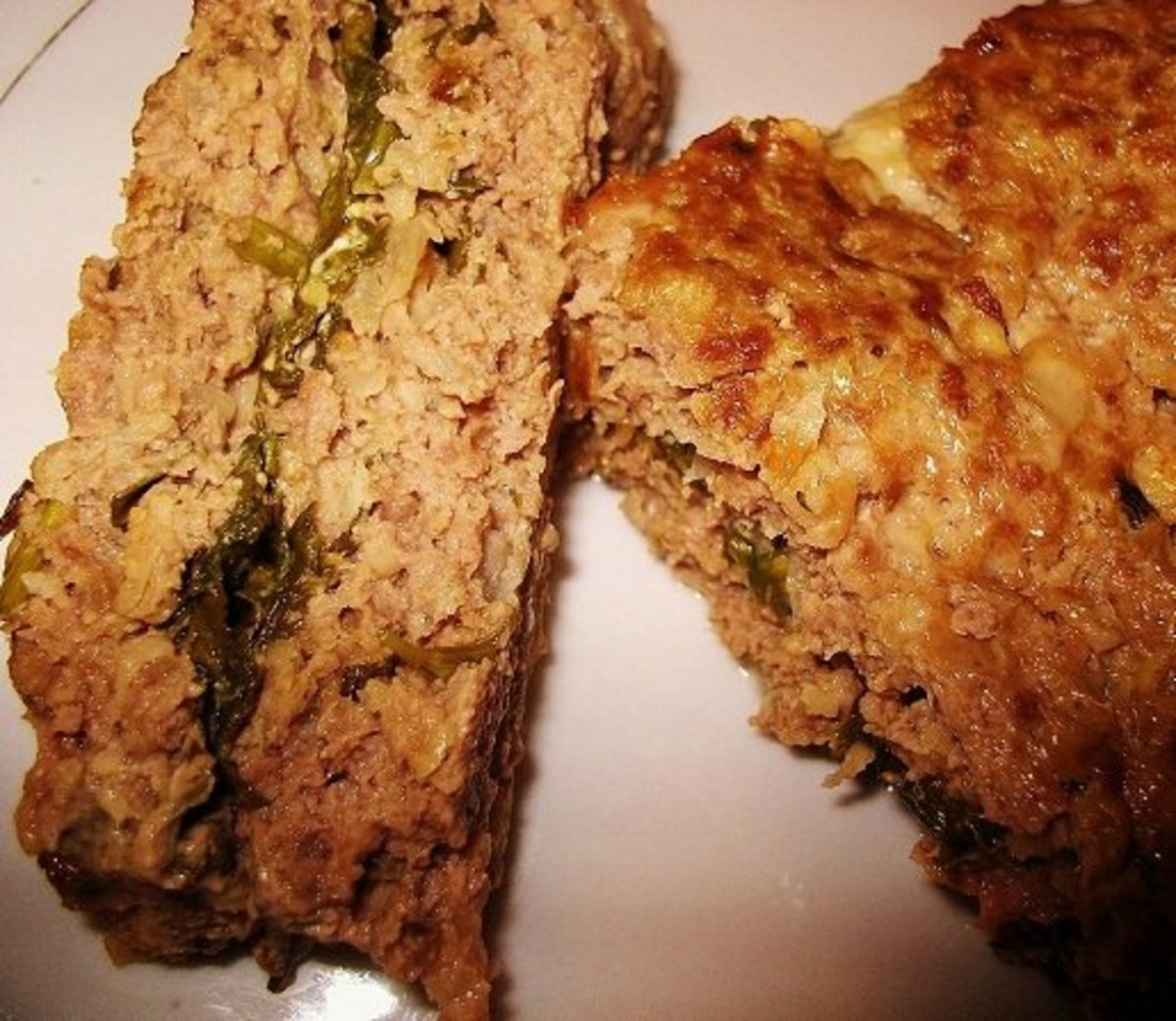 Easy Diabetic Dinner - Stuffed Meatloaf Recipe (Step-By-Step with Pictures)