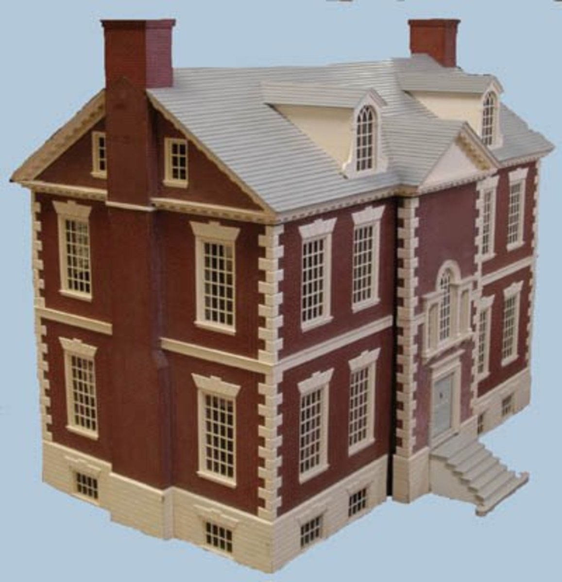 Three quarter profile of the Mount Pleasant House