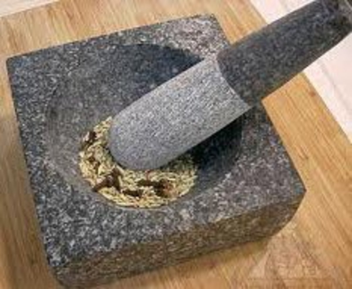 Mortar and Pestle - How It was Used in Ancient Times and Now
