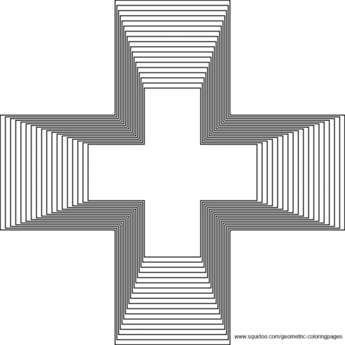 Geometric Coloring Pages Hubpages