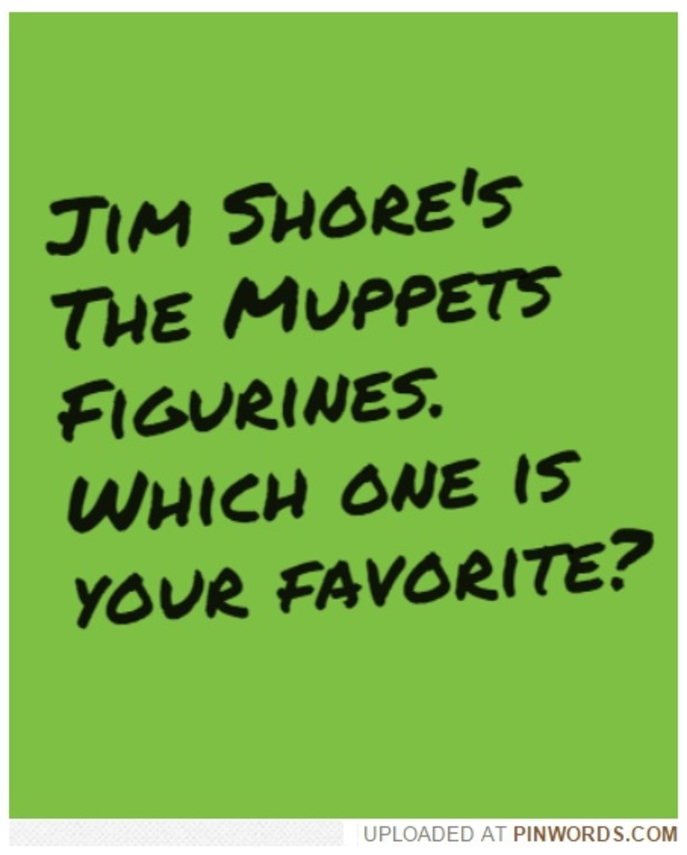 Jim Shore's The Muppets Figurine Collection