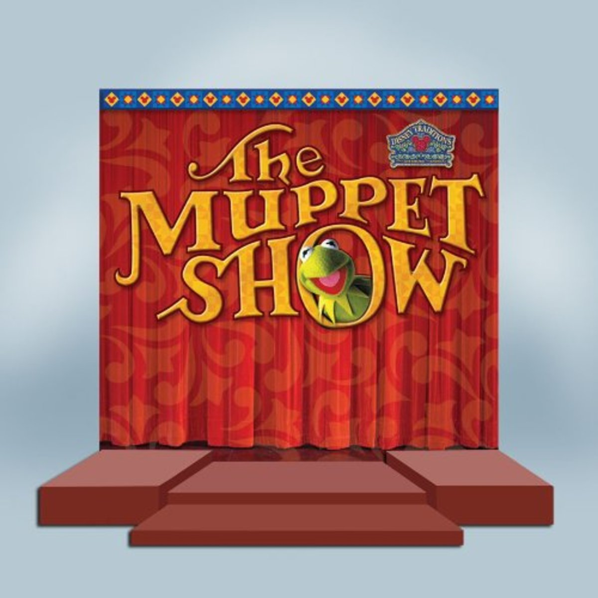 Jim Shore's Stage For The Muppt Show Figurines