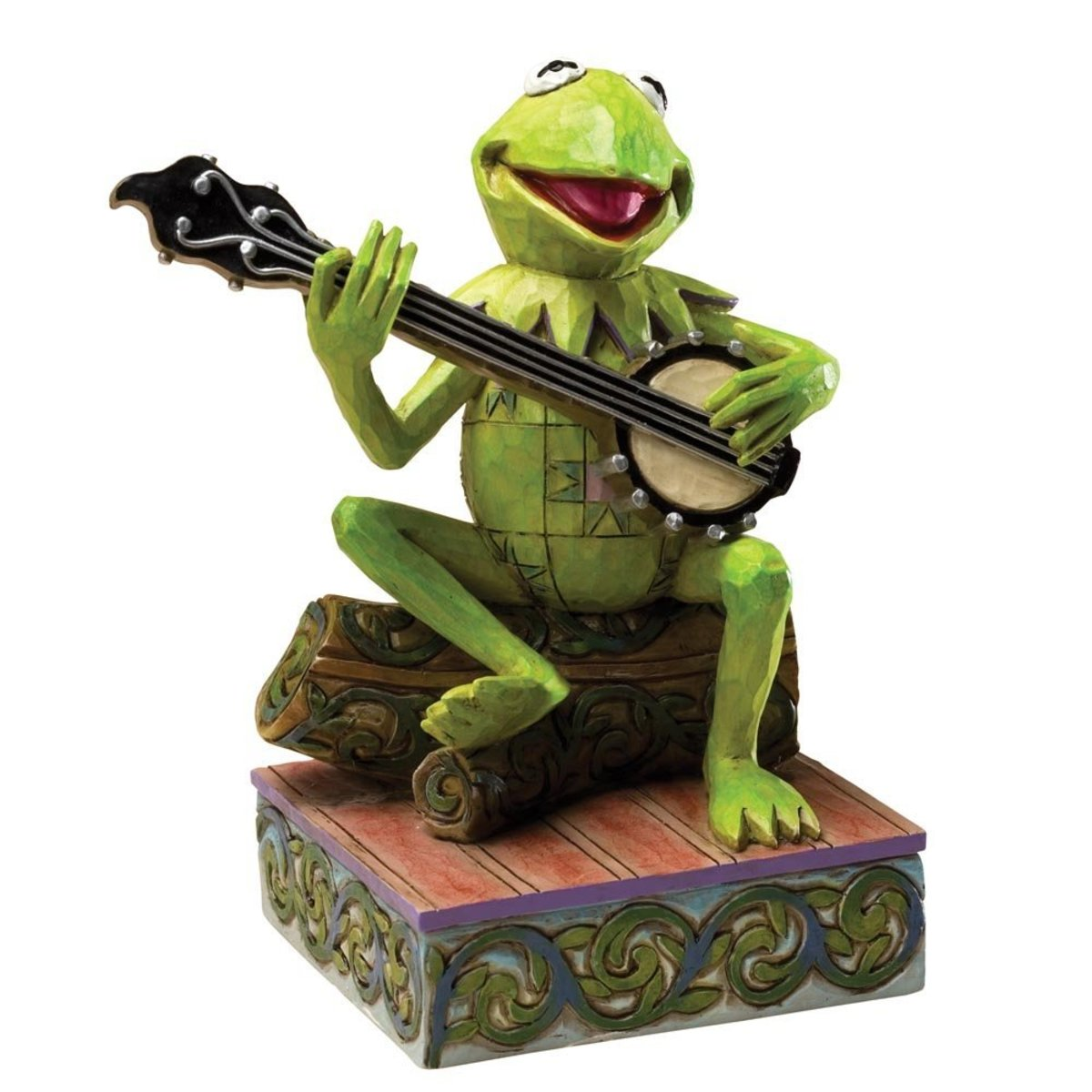 Jim Shore's Collectible The Muppets and Kermit The Frog Figurines