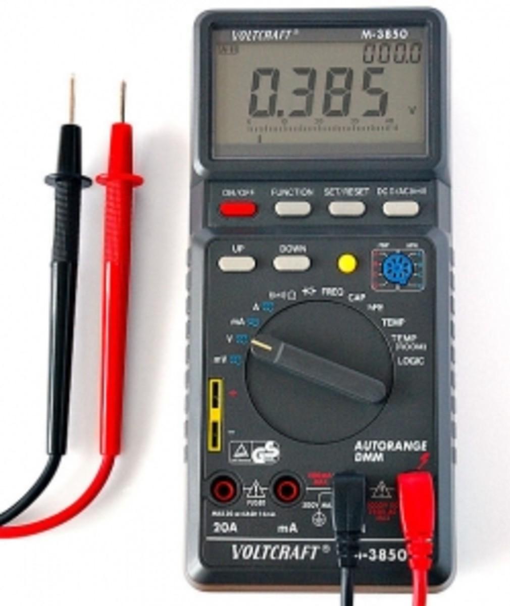multimeter power tester