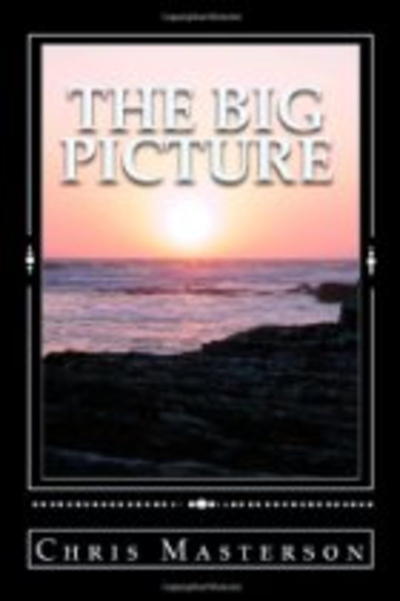 "Cover of  Chris Masterson's book ""The Big Picture"" (a cure for Homophobia)"