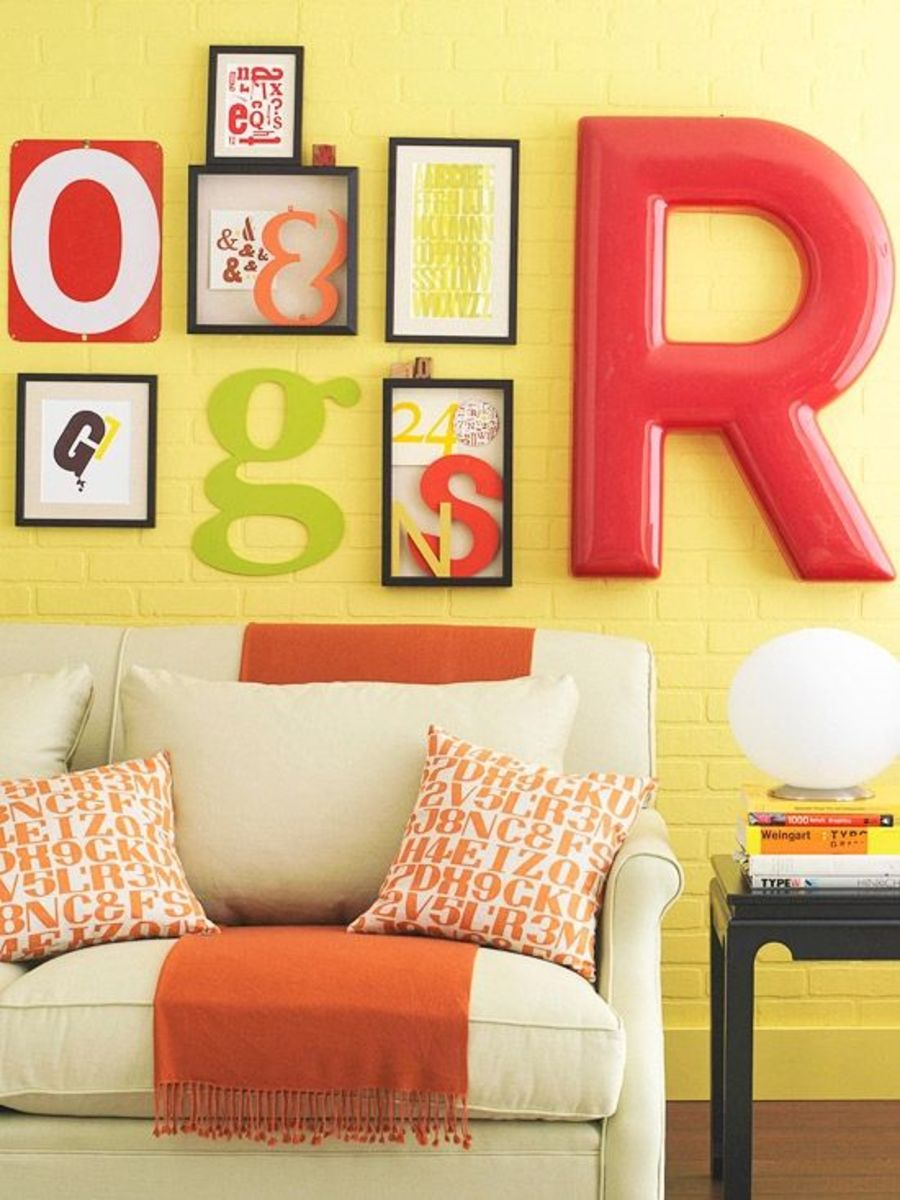 DIY Wall Art - Typography