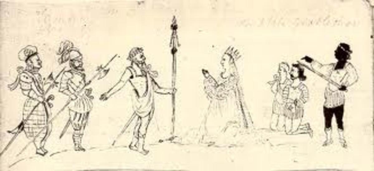The Peacham Drawing