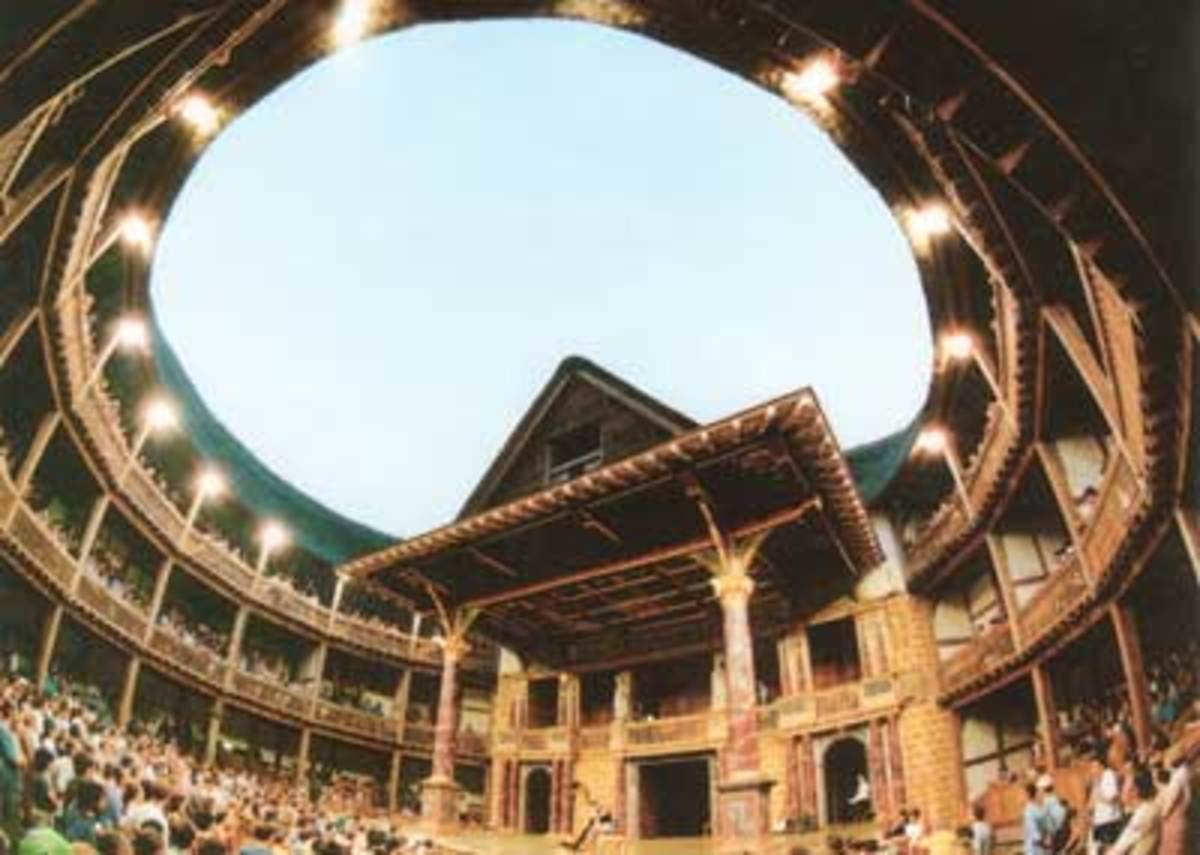 The Globe Theater as it is reconstructed today