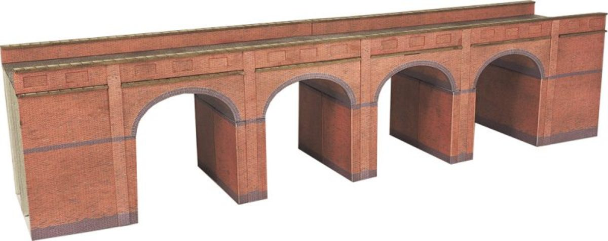 Metcalfe Models' viaduct kit can be added to - make it look like the real thing with lichen and a few touches here and there.