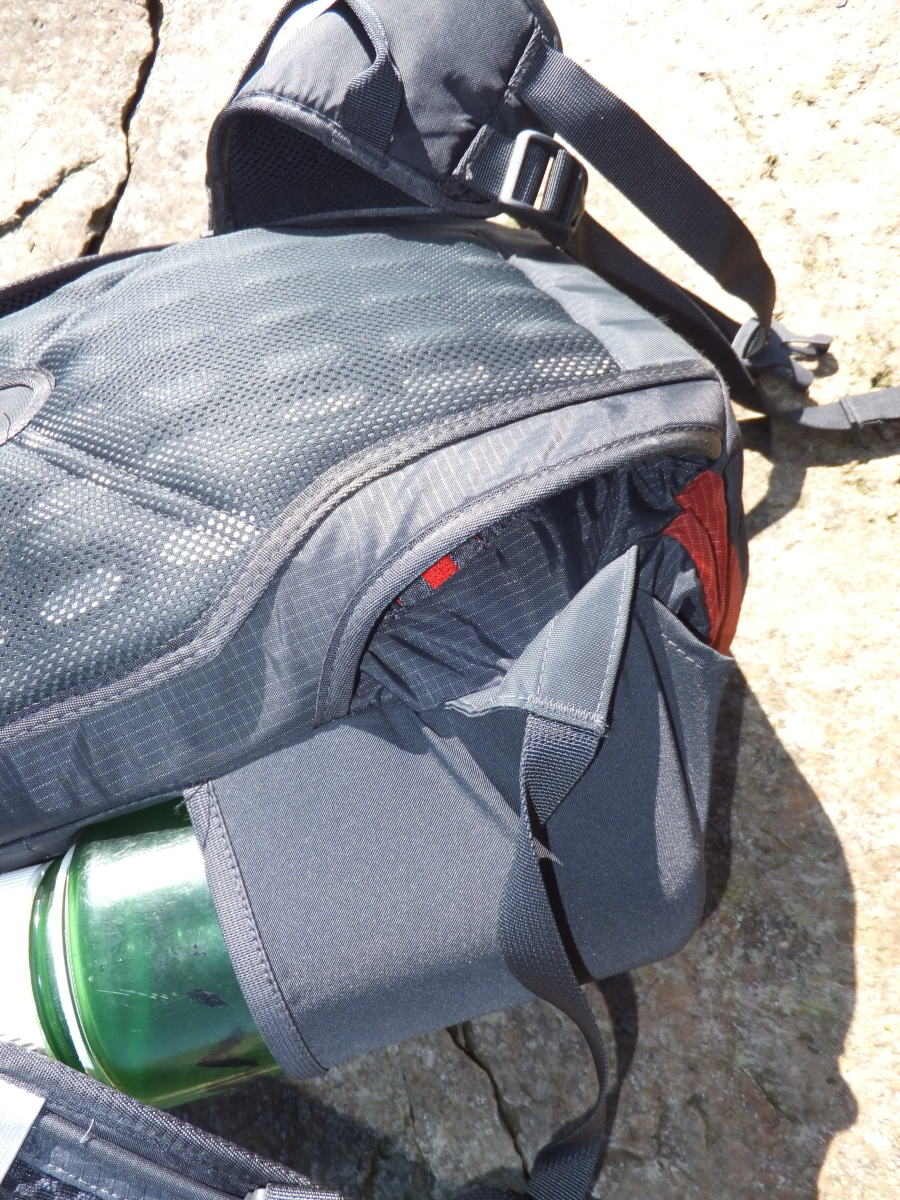The stowable hip belt is a nice feature for converting this pack for urban and airline travel.