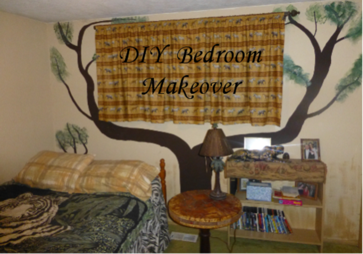 DIY Bedroom Makeover: Cheap Bedroom Decorating Ideas