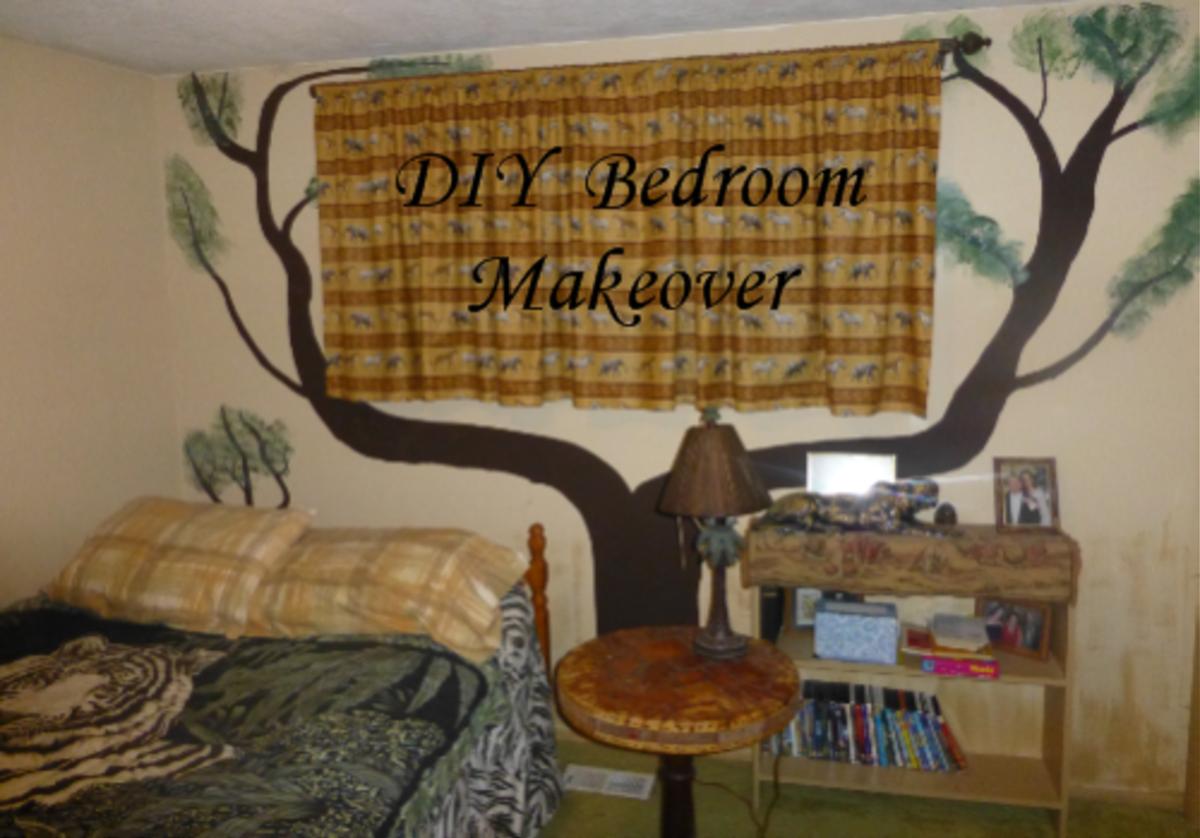 DIY Bedroom Makeover: Cheap Bedroom Decorating Ideas