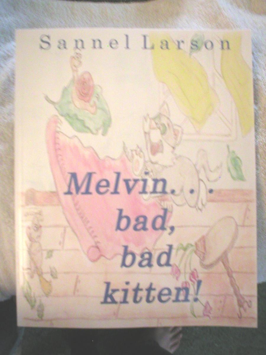 Melvin...bad, bad kitten!