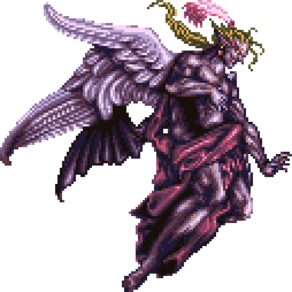 Kefka's final form from Final Fantasy VI (SNES).