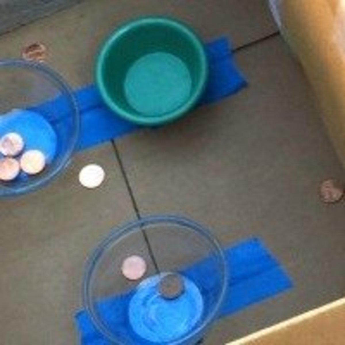 Coins in the Coffer Penny Toss