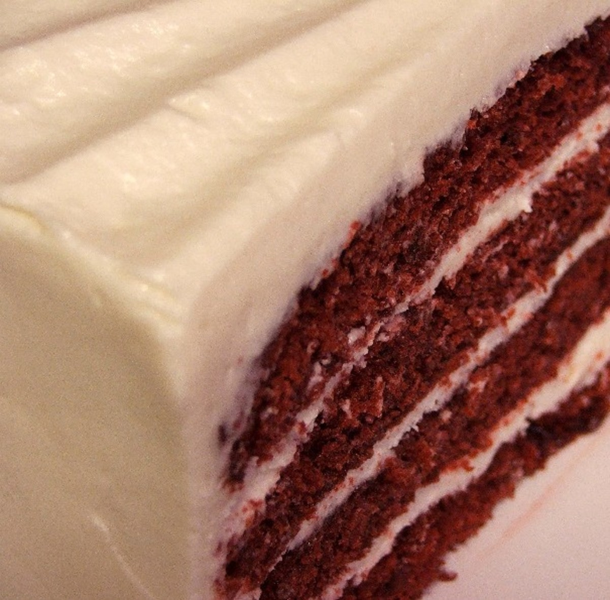 There's nothing quite like the striking colors of a Classic Red Velvet Cake with Cream Cheese Frosting. Traditional at Christmas or Valentine's, it's a family favorite at any time of the year.