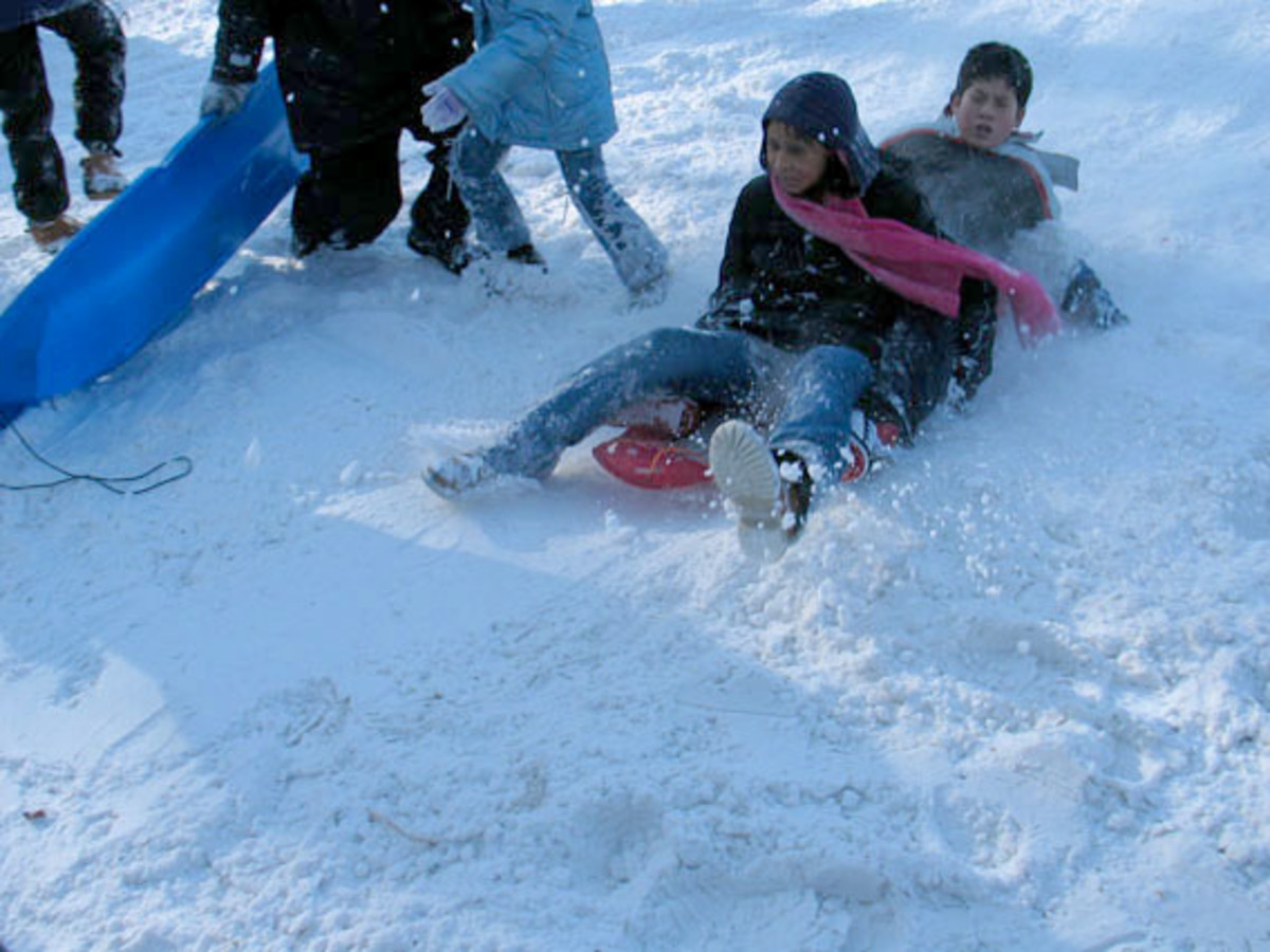Snowplay in Flagstaff