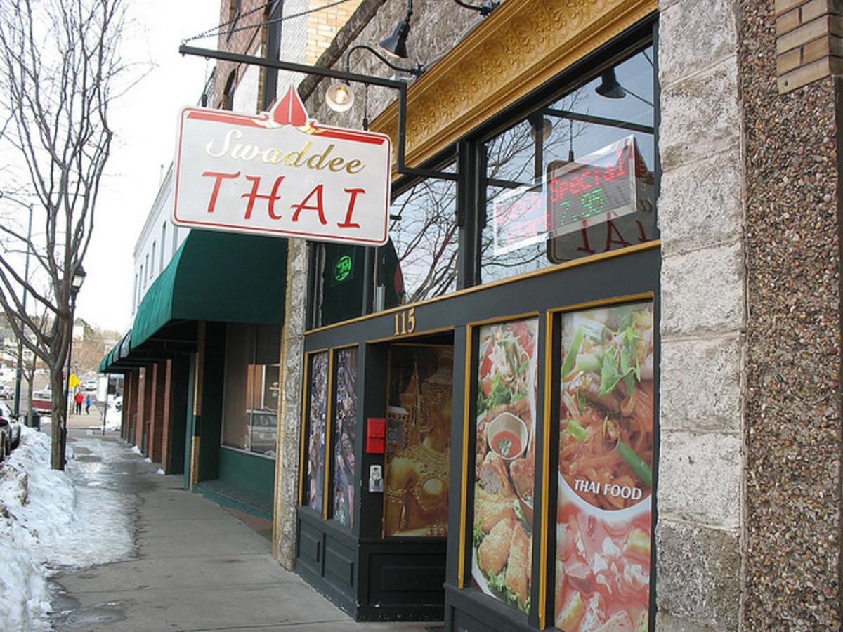 Swaddee Thai, downtown Flagstaff