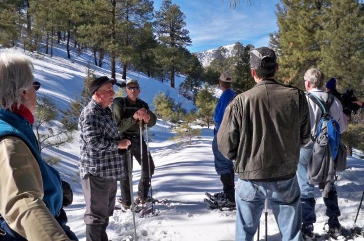 Snowshoeing in Flagstaff