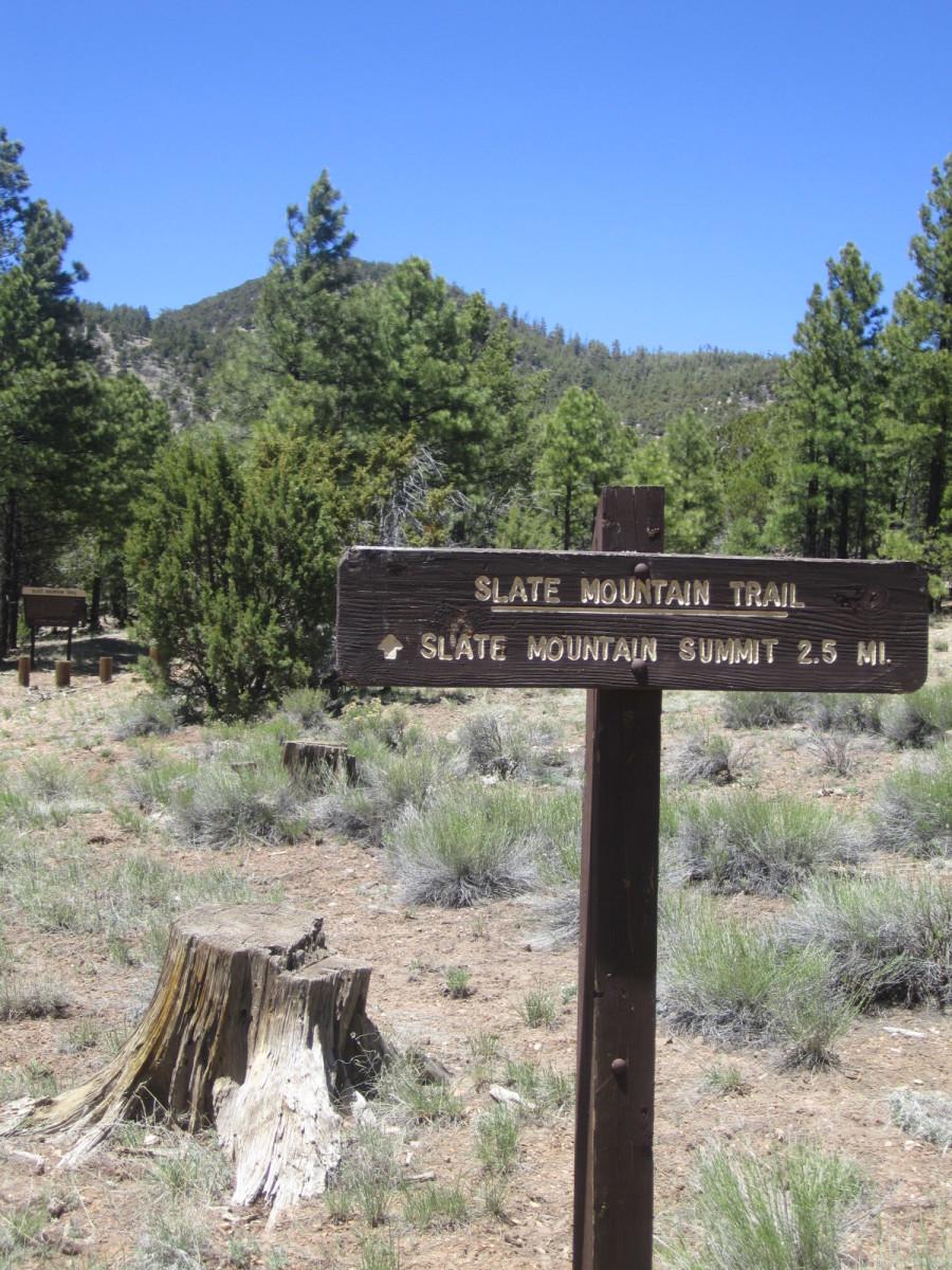 Slate Mountain Trail, Flagstaff