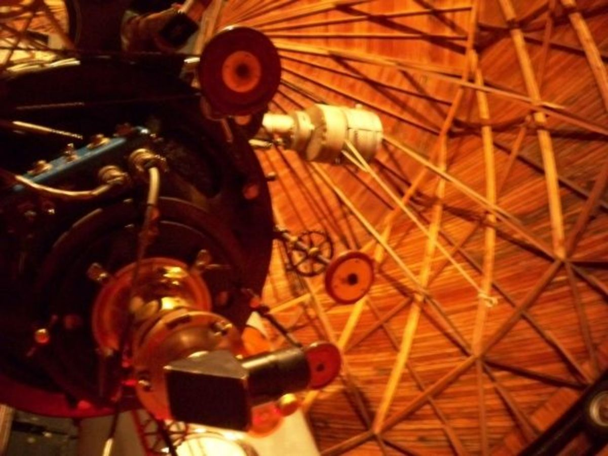 Clark Telescope at Lowell Observatory in Flagstaff