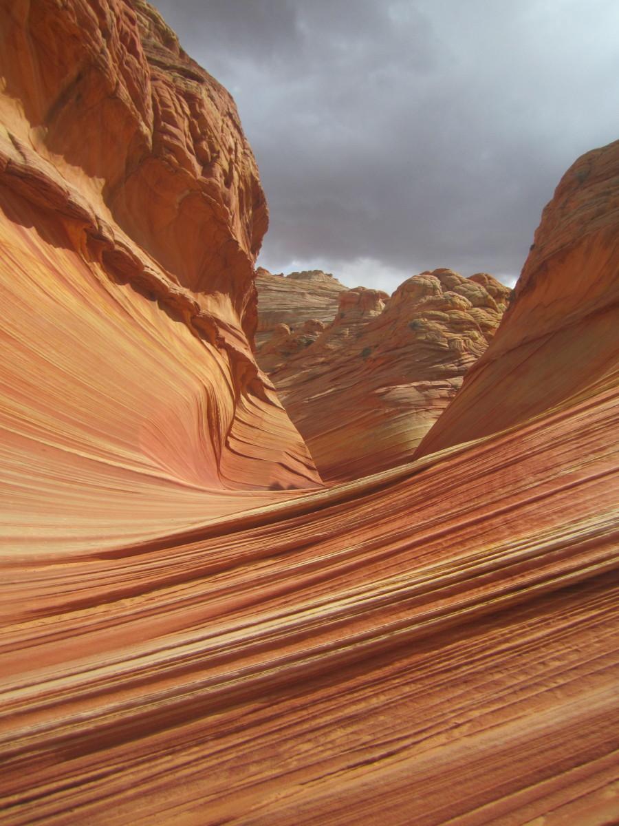 The Wave in northern Arizona