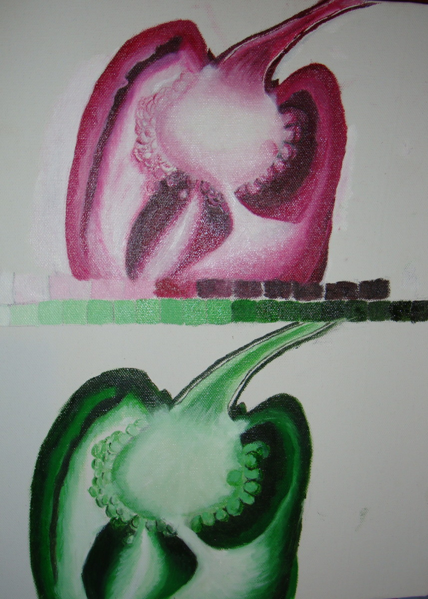Red & Green Bell Pepper