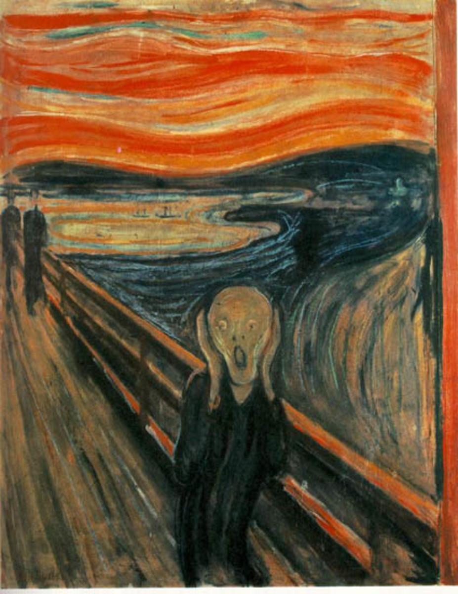 "Edvard Munch's ""The Scream"" - A Description"