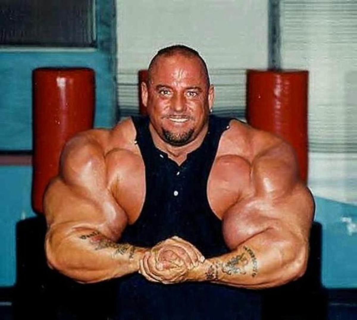 There is zero chance you will look like this guy without weights, but I'm sure most of you are okay with that anyway.